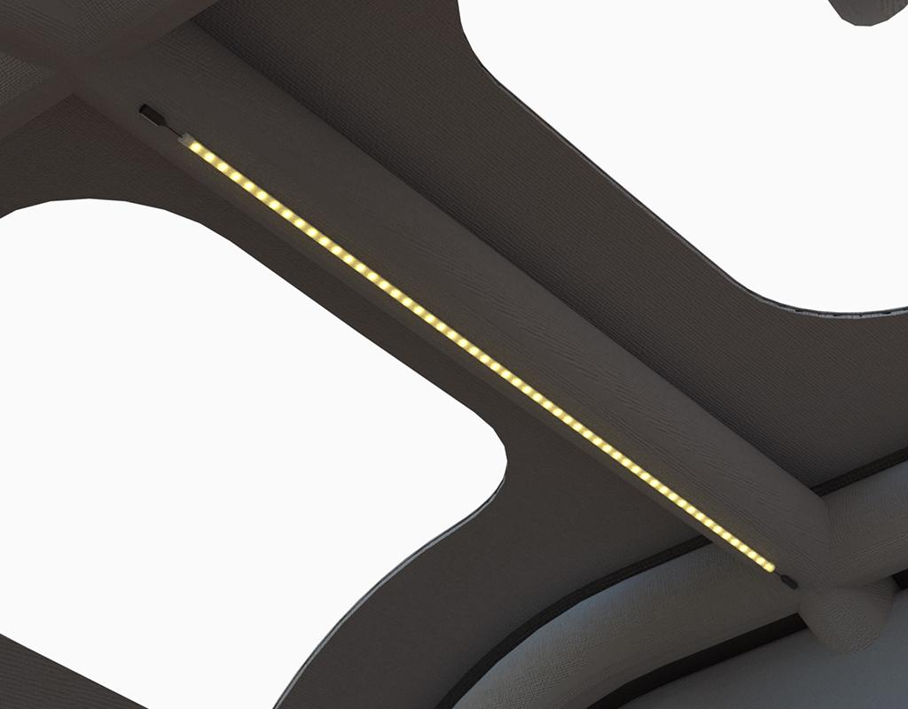 LED-Beleuchtung Hauptzelt