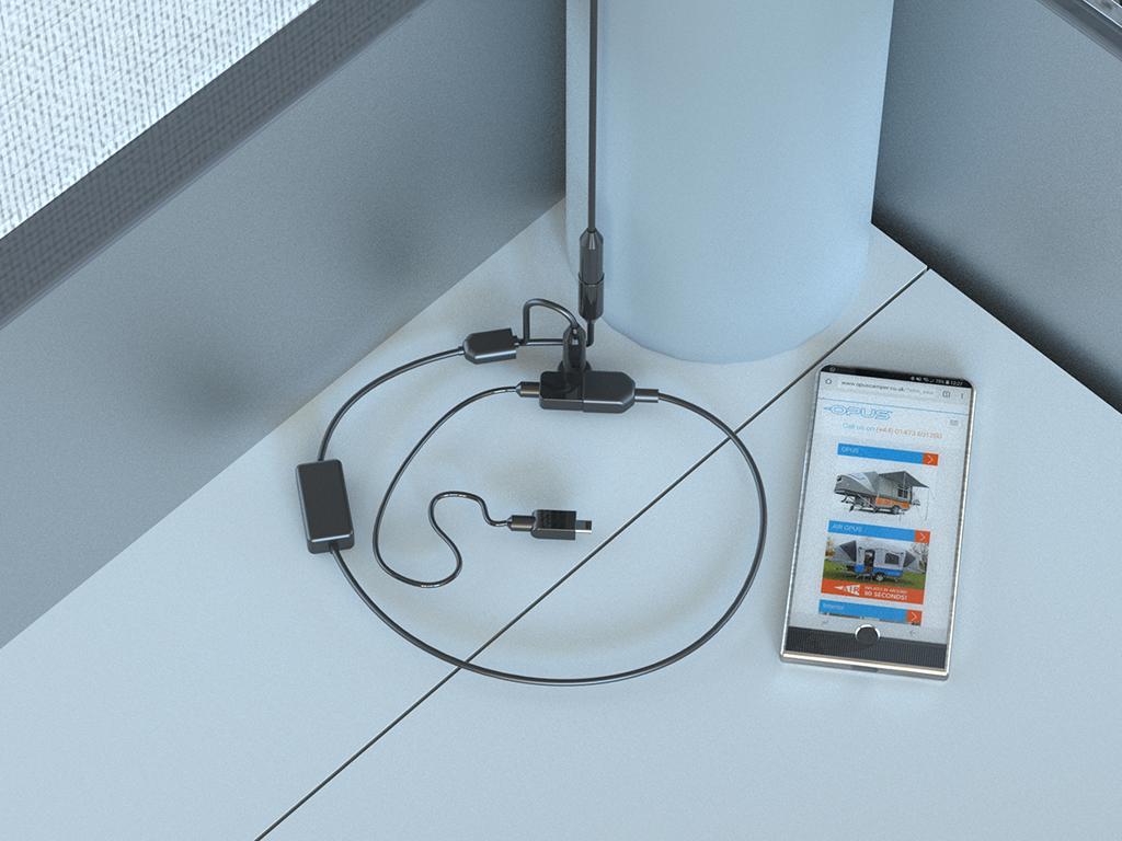 Adapter Kit – Beleuchtung/USB ( 12V )